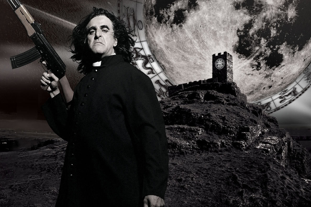 Jaz Coleman in feature length music documentary The Death and Resurrection Show
